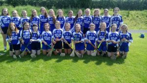 2017-2018 First Year Camogie Team