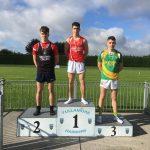 Josh Howe Boys U20 100m 2nd Place