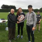 Overall Intermediate Winners well done to our captains Michael Kelly and Leanne Mahon