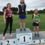 U14 Long jump Veronica Tserova 1st Place