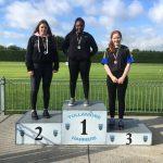 U16 Girls Shottput Leanne Mahon 3rd Place