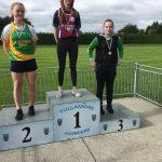 U16 girls discus Cathy Moran 3rd place