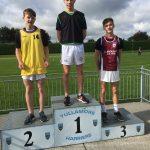 U17 800m Boys Sean Finneran 1st place