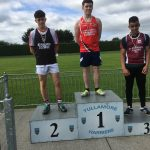 U17 Boys 200m Mike Kelly 2nd place