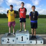 U17 Boys Long Jump Jakub Mastalerz 3rd Place