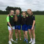 Wel done to our u17 Girls relay team Labhaoise Glynn,Hannah Cannon,Ciara Flynn and Amy Leonard