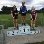 U20 800m Kaitlyn Kennedy 2nd place