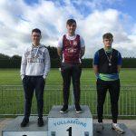 U20 Boys Shottput Graham Mullery 3rd place