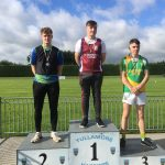 U20 Discus Graham Mullery 2nd Place