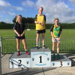 U20 Girls 100m Chloe Reilly 2nd Place
