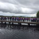 Banagher College TYs enjoying a walk around  Lough Key today.