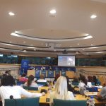 Ms Corley is attending the Seminar for European Parliament Ambassador School's Teachers in the European Parliament, Brussels.