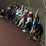 Our TYs enjoying some fabulous indoor activities in Killary Adventure Centre.
